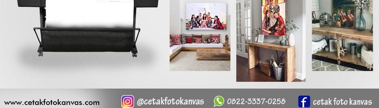 CETAK FOTO KANVAS